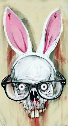 Hydrophobic Nerd Bunny Scalp