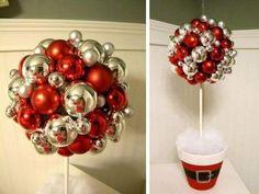 Imparare questa tecnica è molto semplice e vi permetterà di poter creare veramente tanti elementi decoratividi Natale come sfere, coni, nastri, etc. Il ma