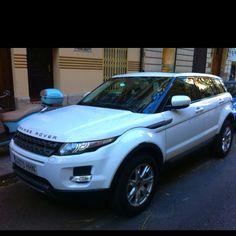 #sarahmattix  Range Rover Evoque