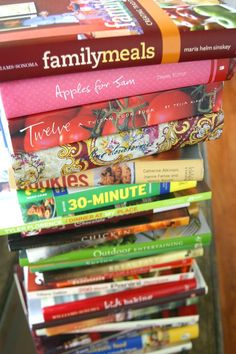 a weakness for cookbooks  http://lisatutmanoglesby.typepad.com/.a/6a00e008c99598883401156f407497970c-500wi