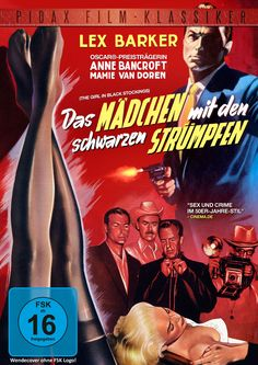 """Ab 22.05.2015 bei uns! Ein raffinierter Mystery-Krimi mit """"Old Shatterhand""""-Darsteller Lex Barker, Anne Bancroft und Mamie Van Doren"""