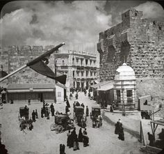 القدس، فلسطين ١٩١٠  Jerusalem, Palestine 1910  Jerusalén, Palestina 1910
