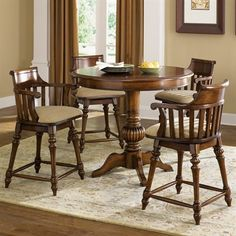 Liberty Furniture Crystal Lakes Swivel Dining Chair