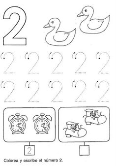 Printable worksheets for kids Learn to count 5 Creative Curriculum Preschool, Preschool Writing, Numbers Preschool, Preschool Learning Activities, Learning Numbers, Free Preschool, Preschool Lessons, Teaching Kids, Letter B Coloring Pages