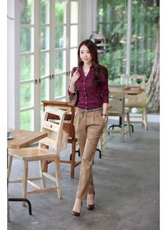 Korean Women Career in Simple Style Dresses Fashion Trends 2013 | V Luv Fash!on