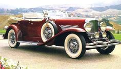 1929 Duesenberg Model J Maintenance of old vehicles: the material for new cogs/casters/gears could be cast polyamide which I (Cast polyamide) can produce