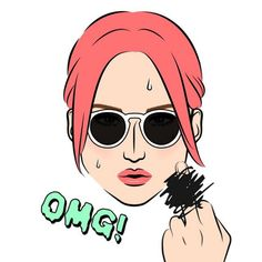☀️☀️☀️Boiling hot summer!!今日の東京は暑すぎて溶けそう〜 #mineportraitapp #mineportrait #mine #portrait #iphoneapp #app #new #instagood #fashion #lifestyle #girl #sunglasses #omg #tokyo #summer #hot #アプリ #似顔絵