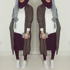 Hijab in semi formal outfit