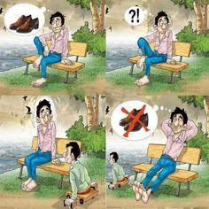 """""""Eu que me queixava de não ter sapatos, encontrei um homem que não tinha pés."""" Provérbio Chinês"""
