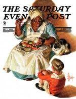Cooking up a Story J.C. Leyendecker December 1, 1934