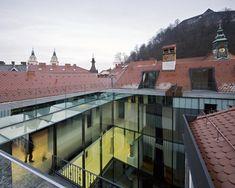 OFIS architects: baroque court apartments - Slovenia - renovation/addition