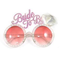 Shop for Bride To Be Glasses Hen Party Novelty Accessories Fancy Dress Hen Night-fun For A Hen Party. Starting from Choose from the 2 best options & compare live & historic health personal care prices. Boho Hen Party, Diy Party Food, Party Ideas, Party Fun, Hen Party Bags, Cool Glasses, Hen Party Accessories, Pink Bling, Hens Night