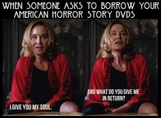 AHS Coven Fiona Goode Jessica Lange I GIVE YOU MY SOUL
