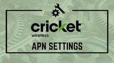 Learn How To Configure Cricket Wireless APN Settings - If you have problems accessing the Internet from your cricket wireless smartphone, then you probably need to review the cricket wireless APN settings on your cell phone. Read More: https://www.winophone.com/cricket-wireless-apn-settings/ #cricketwireless