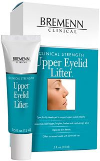 Bremenn Upper Eyelid Lifter is an extraordinary eyelid cream that makes your eyes look bigger, brighter, and fresher.This specialized formula was created specifically to address deflated, drooping lids for a more wide-awake look. Ordinary eye creams designed to counter under-eye puffiness don't fit the bill when it comes to supporting sagging eyelids choose this targeted solution for a serious boost, exactly where you need it.