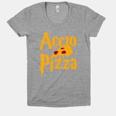 Accio Pizza tshirt (i'm usually a large in tops)