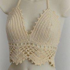 Luty Artes Crochet: Inspirações para Moda praia em crochê.