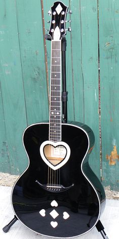 """This beautiful Zemaitis acoustic is Ann Wilson's of Heart primary stage guitar, which she uses on """"These Dreams,"""" """"Dog and Butterfly,"""" and"""" """"Sand.""""..."""
