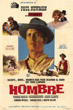 -Hombre- Interpretada por Paul Newman y Dirigida por Martin Ritt (1967).