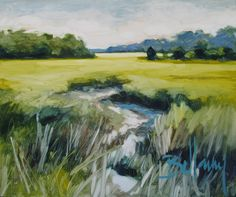 Marsh Near The Isle of Hope painting by Bellamy Murphy
