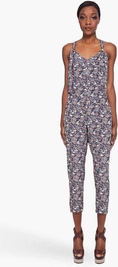 Vanessa Bruno Floral Printed Jumpsuit