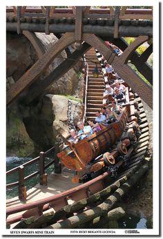 Seven Dwarfs Mine Train Fantasyland