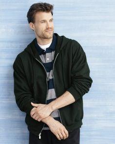 Gildan - Heavy Blend Full-Zip Hooded Sweatshirt - 18600 - starting at $15.94 ➜ clothingshoponline.com | #shop #cheap #tshirts #discount #designer #apparel #brands #deals #clothing #fashion #activewear
