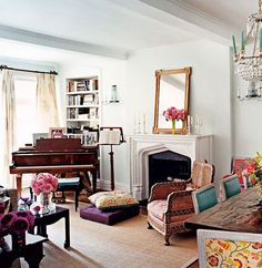 DÉCOR INSPIRATION : BOHO-CHIC IN MANHATTAN by {this is glamorous}, via Flickr
