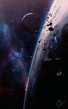 New Spaceart Art by QAuZ.