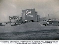 """Clute, Texas The Surf! When Hurrican Carla blew it away someone wrote """"Gone With the Wind"""" now showing. Surfside Beach Texas, Lake Jackson Texas, Freeport Texas, Brazoria County, Drive In Theater, Texas History, Back In The Day, Beach Trip, Old Photos"""