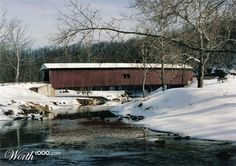 This is a picture I took last year of a historic covered bridge in Lancaster County, PA. During their heyday, there were over 5000 covered bridges in Pennsylvania. Now there are only 217 remaining. Lancaster County leads the pack with 22 bridges remaining.