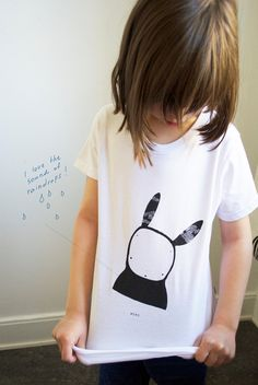 lil' organic cotton t for child - love this print! #eco baby