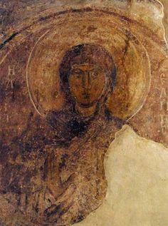 Святая Надежда Фреска придела святого Георгия.