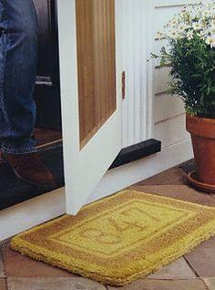custom doormat
