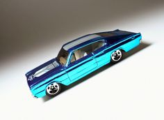 1967 Dodge Charger azul (Hot Wheels)