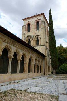 Iglesia San Juan de los Caballeros, en #Segovia