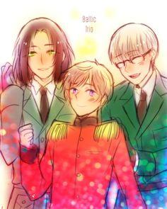 I love the Baltics. Their my favorite trio tbh! <3