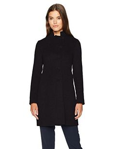 "Slim fitting real down coat with felt wool mock neck collar   	 		 			 				 					Famous Words of Inspiration...""There's nothing sadder in this world than to awake Christmas morning and not be a child.""					 				 				 					Erna Bombeck 						— Click here for more from Erna...  More details at https://jackets-lovers.bestselleroutlets.com/ladies-coats-jackets-vests/wool-pea-coats/product-review-for-armani-jeans-womens-felt-wool-mock-collar-coat/"