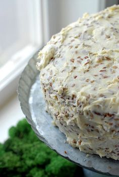 The Best Hummingbird Cake-banana bread meets carrot cake-with a pecan cream cheese frosting-holy crapstix