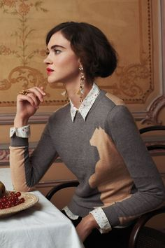 anthropologie catalog | Anthropologie October 2012 Catalog So Downton Abbey-ish