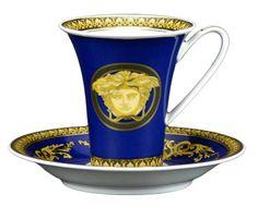 Versace Medusa Blue www.versacehome.it