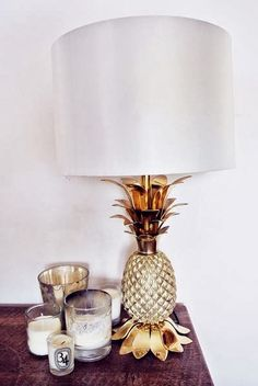 Pineapple lamp <3