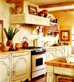 Northern Nesting: A little Country French kitchen
