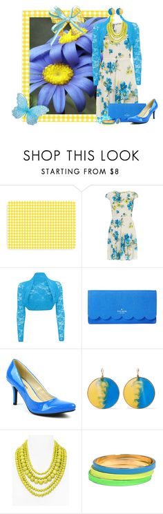 """Spring Floral"" by kathleensmith-i ❤ liked on Polyvore featuring Bungalow Flooring, Dorothy Perkins, Kate Spade, Mark & Maddux, Missoni, BaubleBar, A.V. Max and Ashiana"