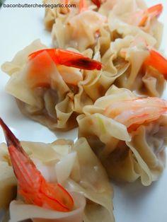 Bacon, Butter, Cheese & Garlic: Sui Mai Dumplings