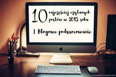Rozaneczka: 10 najczęściej czytanych postów w 2015 roku | Blogowe podsumowanie