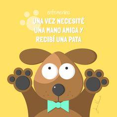Por algo dicen que el #perro es el mejor amigo del hombre #frasedeldia #amistad