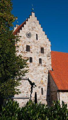 St Nicholai church in Simrishamn, Österlen, Skåne, Sweden