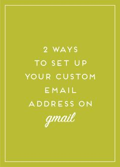 There are two ways you can set up a custom Gmail account using your website URL. Read on to find out how!