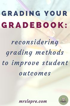 Are your grading policies serving your students? Grades should reflect student learning and progress, not their ability to meet deadlines. Teaching Methods, Teaching Strategies, Teaching Ideas, Teaching Resources, Teaching Techniques, Teaching Tools, Middle School Counseling, Middle School Teachers, School Grades